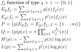 数学符号表示
